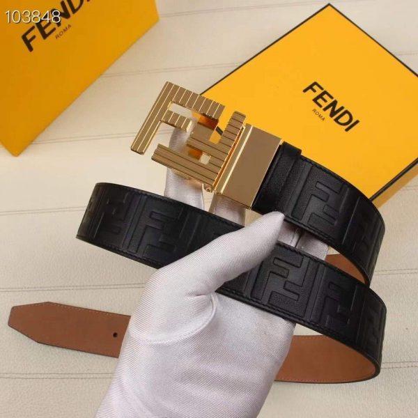 Fendi Belts Designer FF Buckle Leisure Belt Wide 3.8CM AA0478 - luxibagsmall