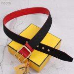 Fendi Belts Designer Leisure Belt Wide 3.8CM AA0479 - luxibagsmall