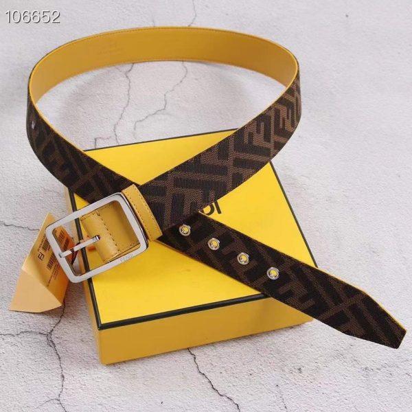 Fendi Belts Designer Leisure Belt Wide 3.8CM AA0480 - luxibagsmall