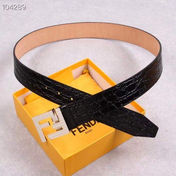 Fendi Belts Designer FF Buckle Leisure Belt Wide 3.8CM AA0481 - luxibagsmall