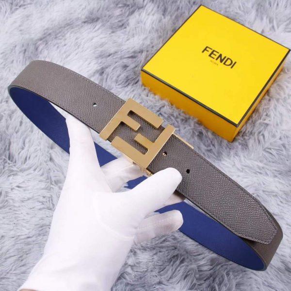 Fendi Belts Designer FF Buckle Leisure Belt Wide 3.8CM AA0483 - luxibagsmall