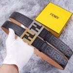Fendi Belts Designer FF Buckle Leisure Belt Wide 3.8CM AA0484 - luxibagsmall