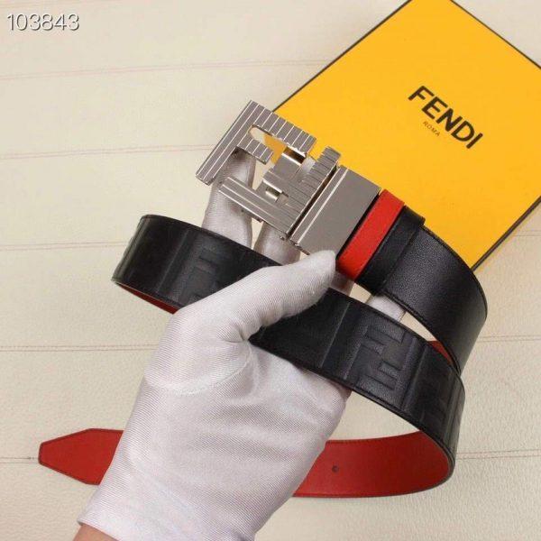 Fendi Belts Designer FF Buckle Leisure Belt Wide 3.8CM AA0485 - luxibagsmall