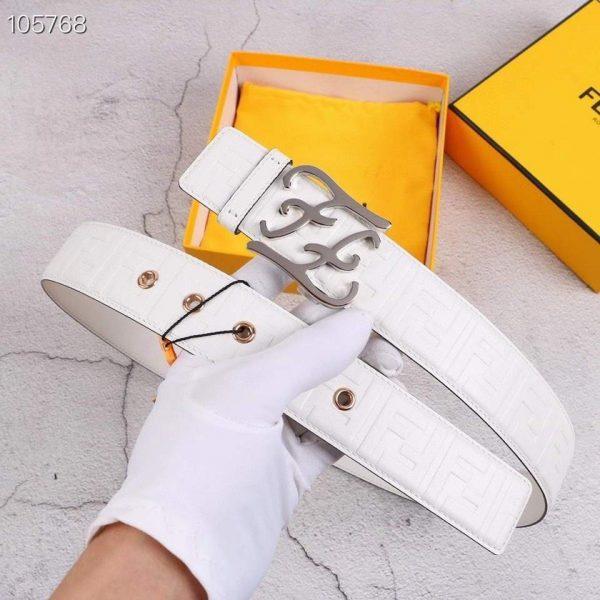 Fendi Belts Designer FF Buckle Leisure Belt Wide 3.8CM AA0486 - luxibagsmall