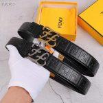 Fendi Belts Designer FF Buckle Leisure Belt Wide 3.8CM AA0487 - luxibagsmall