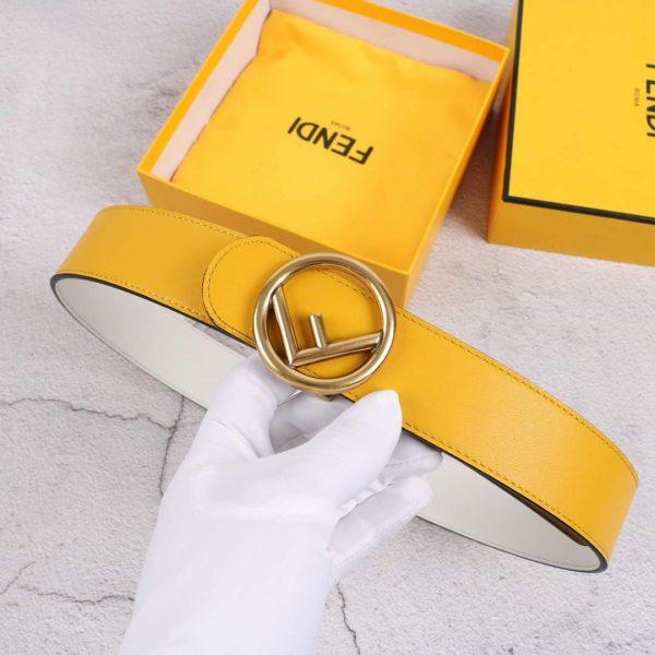 Fendi Belts Designer FF Buckle Leisure Belt Wide 3.8CM AA0494 - luxibagsmall