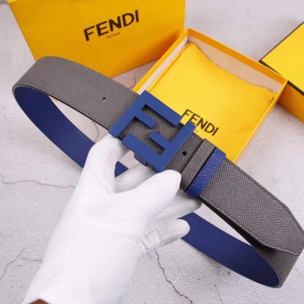 Fendi Belts Designer FF Buckle Leisure Belt Wide 3.8CM AA0492 - luxibagsmall