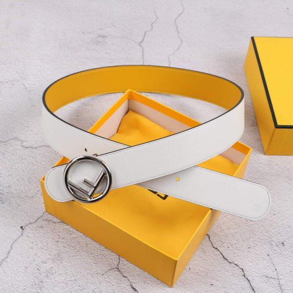 Fendi Belts Designer FF Buckle Leisure Belt Wide 3.8CM AA0493 - luxibagsmall