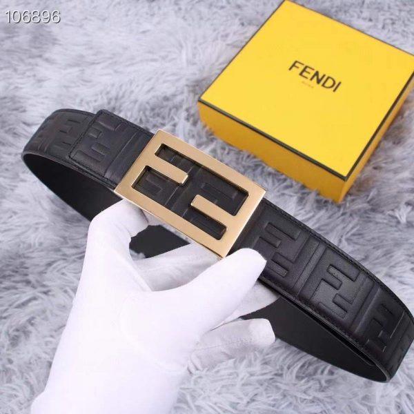 Fendi Belts Designer FF Buckle Leisure Belt Wide 3.8CM AA0491 - luxibagsmall