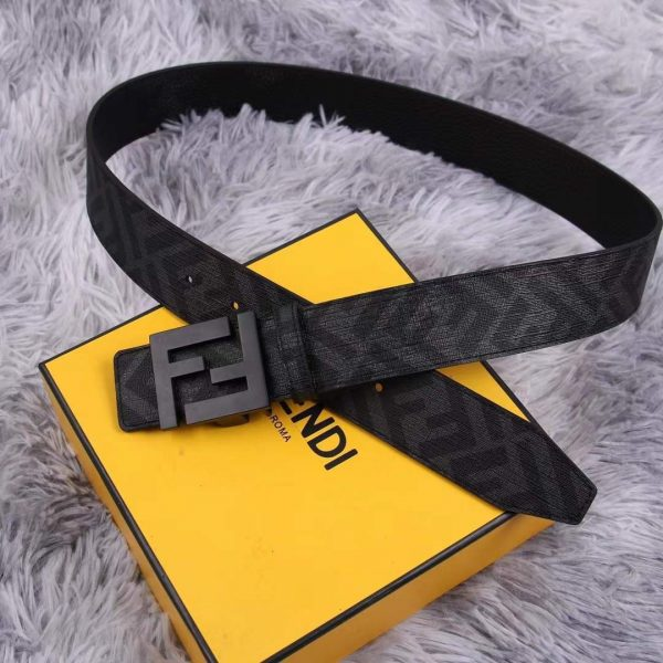 Fendi Belts Designer FF Buckle Leisure Belt Wide 3.8CM AA0490 - luxibagsmall