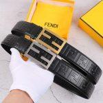 Fendi Belts Designer FF Buckle Leisure Belt Wide 3.8CM AA0465 - luxibagsmall