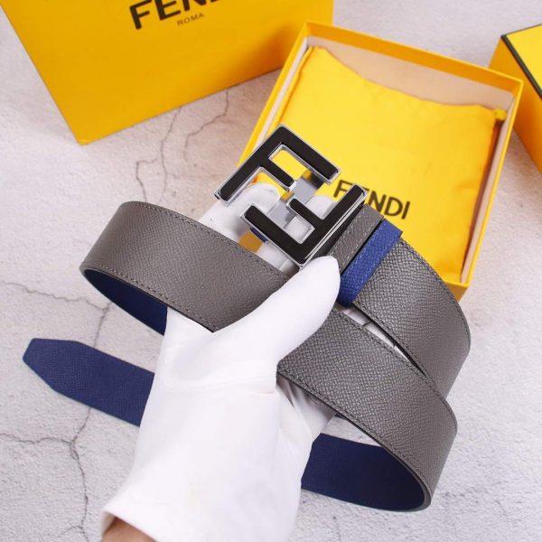 Fendi Belts Designer FF Buckle Leisure Belt Wide 3.8CM AA0466 - luxibagsmall