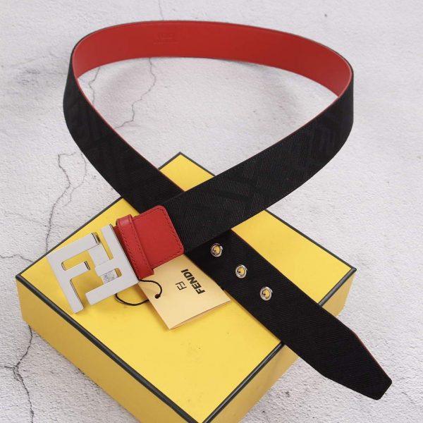 Fendi Belts Designer FF Buckle Leisure Belt Wide 3.8CM AA0468 - luxibagsmall