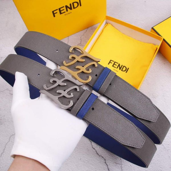 Fendi Belts Designer FF Buckle Leisure Belt Wide 3.8CM AA0469 - luxibagsmall