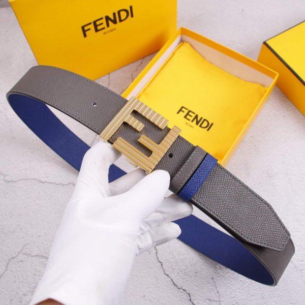 Fendi Belts Designer FF Buckle Leisure Belt Wide 3.8CM AA0470 - luxibagsmall
