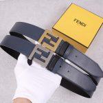 Fendi Belts Designer FF Buckle Leisure Belt Wide 3.8CM AA0471 - luxibagsmall