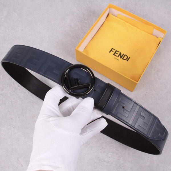 Fendi Belts Designer FF Buckle Leisure Belt Wide 3.8CM AA0472 - luxibagsmall