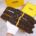Fendi Belts Designer FF Buckle Leisure Belt Wide 3.8CM AA0463 - luxibagsmall