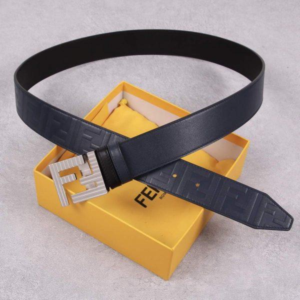 Fendi Belts Designer FF Buckle Leisure Belt Wide 3.8CM AA0473 - luxibagsmall