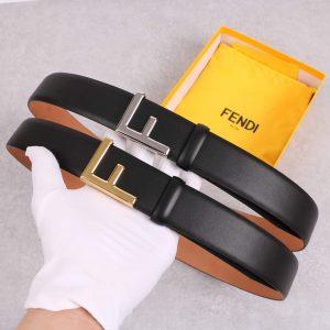 Fendi Belts Designer FF Buckle Leisure Belt Wide 3.8CM AA0474 - luxibagsmall