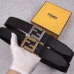 Fendi Belts Designer FF Buckle Leisure Belt Wide 3.8CM AA0476 - luxibagsmall