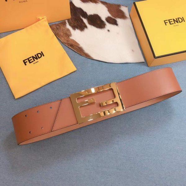 Fendi Belts Designer FF Buckle Leisure Belt Wide 6.0CM AA0461 - luxibagsmall