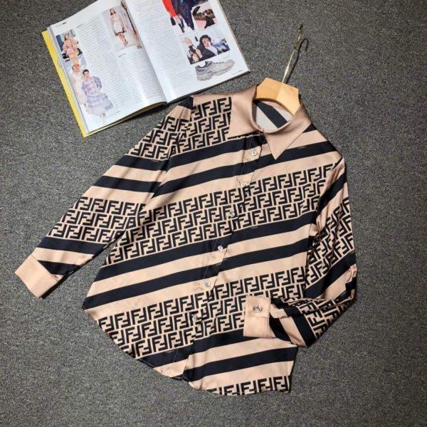 Fendi Blouse Silk White Designer Fendi Clothing 38076 - Voguebags