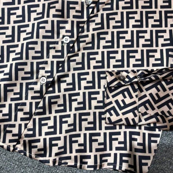 Fendi Blouse Silk Black Designer Fendi Clothing 38077 - Voguebags