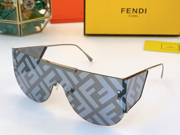 Fendi Sunglasses Luxury Fendi SHADES Sport Fashion Show Sunglasses 992001 - luxibagsmall