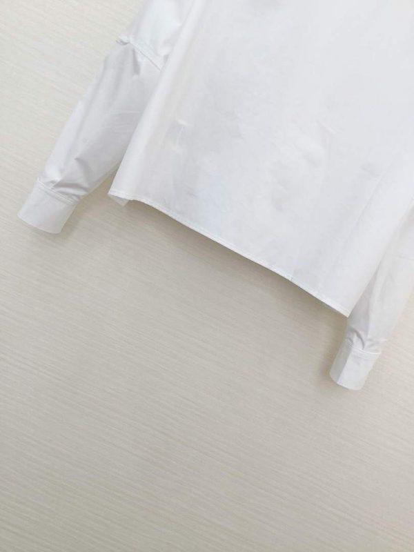 Fendi Women's Shirts Designer Fendi Clothing White 38085 - luxibagsmall