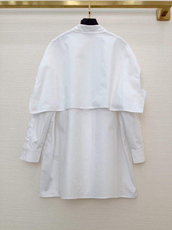 Fendi Women's Shirts Designer Fendi Clothing White 38084 - luxibagsmall