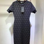 fendi-womens-dress-designer-fendi-ff-motif-fitted-midi-dress-fzd753a5-brown-11