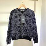 fendi-womens-dress-designer-fendi-ff-motif-fitted-midi-dress-fzd753a5-brown-12