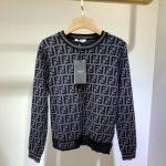 fendi-womens-dress-designer-fendi-ff-motif-fitted-midi-dress-fzd753a5-brown-13