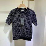 fendi-womens-dress-designer-fendi-ff-motif-fitted-midi-dress-fzd753a5-brown-14