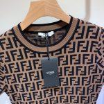 fendi-womens-dress-designer-fendi-ff-motif-fitted-midi-dress-fzd753a5-brown-2
