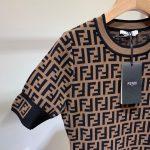 fendi-womens-dress-designer-fendi-ff-motif-fitted-midi-dress-fzd753a5-brown-3