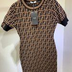fendi-womens-dress-designer-fendi-ff-motif-fitted-midi-dress-fzd753a5-brown-4