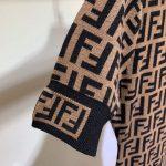 fendi-womens-dress-designer-fendi-ff-motif-fitted-midi-dress-fzd753a5-brown-5
