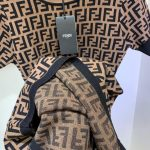 fendi-womens-dress-designer-fendi-ff-motif-fitted-midi-dress-fzd753a5-brown-7