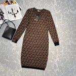 fendi-womens-fd9627a8-brown-micro-mesh-dress-3