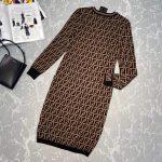fendi-womens-fd9627a8-brown-micro-mesh-dress-8