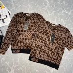 fendi-womens-fd9627a8-brown-micro-mesh-dress-9