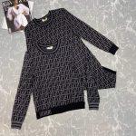 fendi-womens-fzd753a5-ff-motif-fabric-dress-black-4