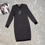 fendi-womens-fzd753a5-ff-motif-fabric-dress-black-5