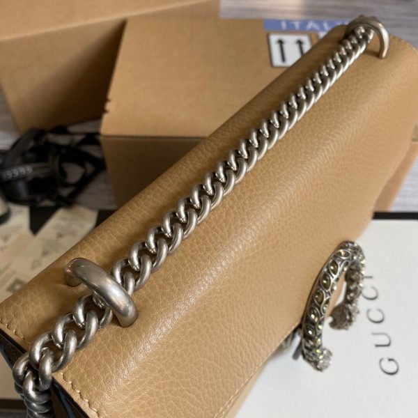 Gucci 400249 Dionysus Shoulder Bag Apricot - luxibagsmall