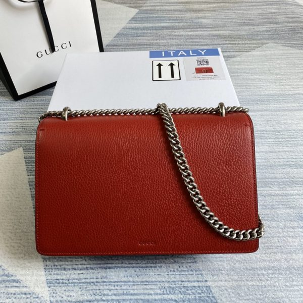 Gucci 400249 Dionysus Shoulder Bag Red - luxibagsmall