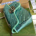 gucci-446744-gg-marmont-mini-sequin-shoulder-bag-green-3