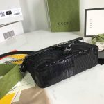 gucci-446744-gg-marmont-mini-shoulder-sequin-bag-black-10