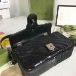 gucci-446744-gg-marmont-mini-shoulder-sequin-bag-black-11